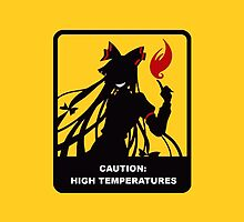 caution high temperatures by kermekx