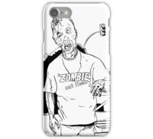 Zombie - Eat Flesh iPhone Case/Skin