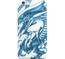 blue eyes white dragon yugioh iPhone Case/Skin