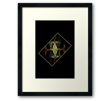 Framed Feminine Fashion Framed Print