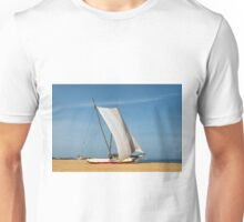 Catamaran, Negombo Beach, Sri Lanka Unisex T-Shirt