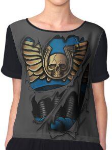 Ultramarines Armor Chiffon Top