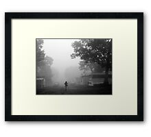 out of my world.... Framed Print