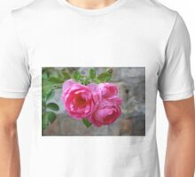 Group of pink roses Unisex T-Shirt