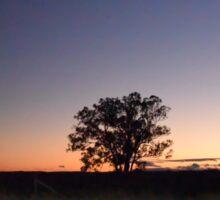 Silverdale Sunset (1), NSW, Australia Sticker