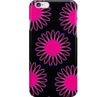 Big Pink Daisy Abstract iPhone Case/Skin
