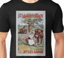 Performing Arts Posters The singing comedian Andrew Mack in the greatest of Irish plays Myles Aroon 0733 Unisex T-Shirt