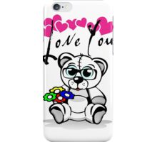 Teddy Love iPhone Case/Skin