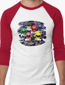 Pirate Rangers Men's Baseball ¾ T-Shirt