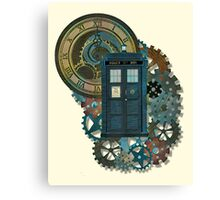 TARDIS Art Doctor Who  Canvas Print