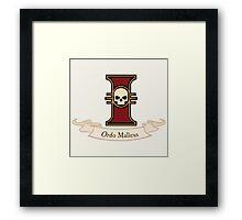 Ordo Malleus (Warhammer) Framed Print