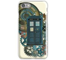 TARDIS Art Doctor Who  iPhone Case/Skin