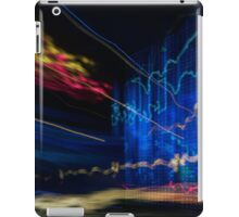 abstract  hacker attack on information dataserver iPad Case/Skin