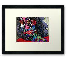 Angst Framed Print