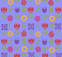 Spring Floral Print by lcgcreations