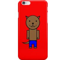 The Wolf man iPhone Case/Skin