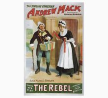 Performing Arts Posters The singing comedian Andrew Mack in his new play The rebel a drama of the Irish rebellion by James B Fagen 1332 One Piece - Short Sleeve