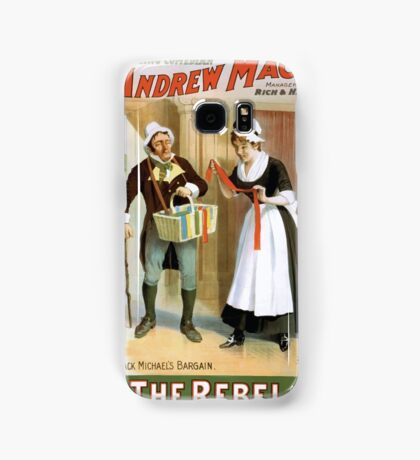 Performing Arts Posters The singing comedian Andrew Mack in his new play The rebel a drama of the Irish rebellion by James B Fagen 1332 Samsung Galaxy Case/Skin