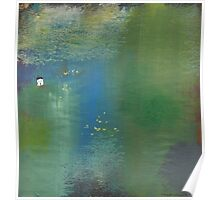 The water lilies Poster