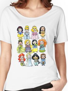 Princesses Women's Relaxed Fit T-Shirt