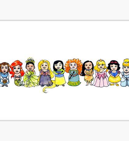 Princesses Sticker