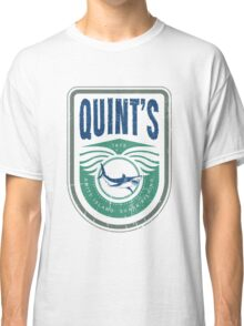 Quint's - Amity Island Shark Fishing Classic T-Shirt