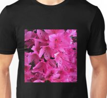Pink Passion in the Rain Unisex T-Shirt