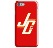 JC 25 Red iPhone Case/Skin