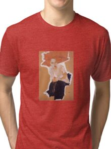 Egon Schiele - The Scornful Woman 1910 Tri-blend T-Shirt