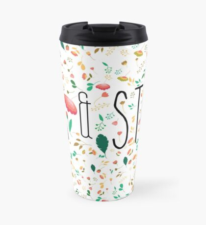 Tea & Study Design Travel Mug