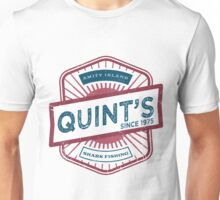 Quint's - Shark Fishing Since '75 Unisex T-Shirt