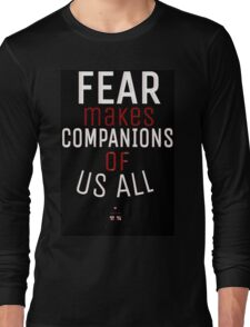 Fear- Doctor Who Long Sleeve T-Shirt