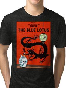 Tintin - The Blue Lotus Tri-blend T-Shirt