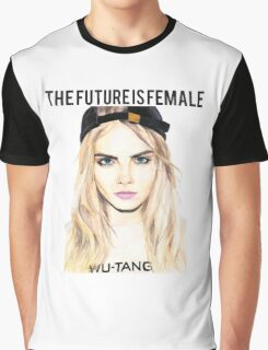 Cara Future Female Graphic T-Shirt