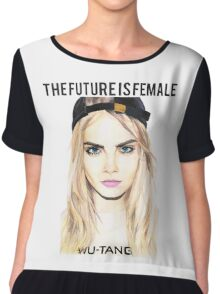 Cara Future Female Chiffon Top