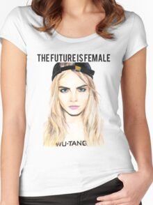 Cara Future Female Women's Fitted Scoop T-Shirt