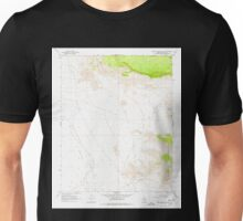 USGS TOPO Map Arizona AZ Music Mountains NW 312566 1968 24000 Unisex T-Shirt
