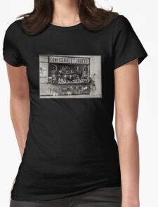 Old Toy Shop Womens Fitted T-Shirt