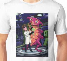 Manga professor with nice Pink Monster Experiment Unisex T-Shirt