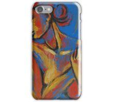 Mellow Yellow - Female Nude Portrait iPhone Case/Skin