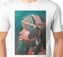 Small beautiful girl Nosipho.(original is in private collection) Unisex T-Shirt