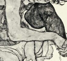 Egon Schiele - Zeichnungen I  (1917)  Sticker