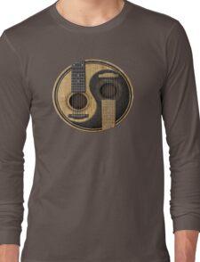 Acoustic Guitars Yin Yang Long Sleeve T-Shirt