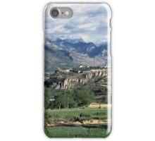 Mont Dauphin, Hautes Alpes, France iPhone Case/Skin