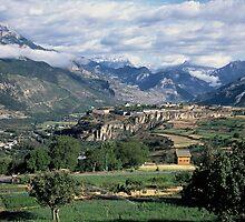 Mont Dauphin, Hautes Alpes, France by John Morris