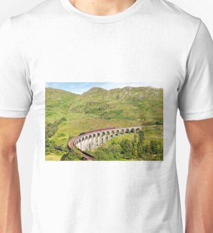 Glenfinnan Viaduct, Scotland Unisex T-Shirt