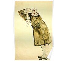 Egon Schiele -Sleeping Girl  Poster