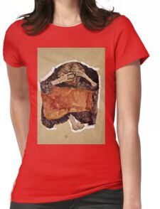 Egon Schiele -Troubled Woman  Womens Fitted T-Shirt