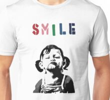 Banksy - SMILE Unisex T-Shirt