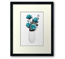 Floral display Framed Print